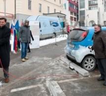 Odprtje 1. elektro črpalke v Trbovljah
