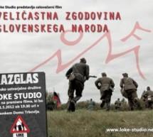 """Premiera filma """"Veličastna zgodovina slovenskega naroda"""""""