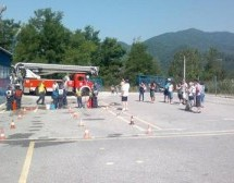 Trboveljski gasilci tekmovali