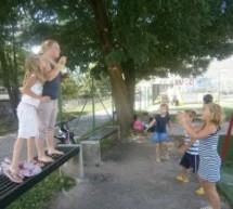 Počitniške dejavnosti na DPM Trbovlje: Teden otroških plesov (30.7. – 3.8.2012)