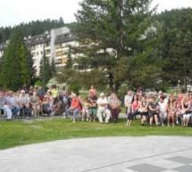 Prireditev v parku ob prazniku KS Franc Fakin in obletnici osvoboditve Trbovelj