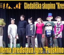 "Gledališka predstava najmlajših ""Svobodašev"""