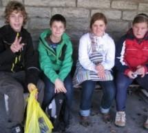 Učenci in učitelji OŠ Ivana Cankarja v Estoniji