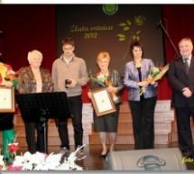 Podelitev Zlate vrtnice 2012