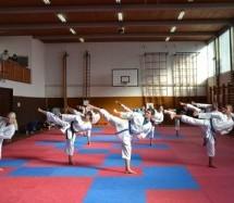 Tea Lopan in Almin Salkič sta kot člana slovenske reprezentance nastopila na mediteranskem prvenstvu v karateju