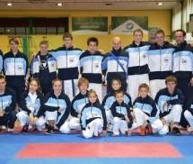 Luka Ferlin in Blaž Hribovšek državna prvaka v karateju
