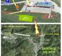 V Zasavju vaja »Letalska nesreča 2013«