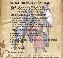 Turistično društvo Trbovlje vabi na Drugi srednjeveški dan v mestnem parku!