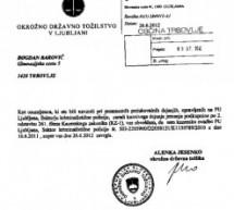 Bogdan Barovič: Sodišče je zavrnilo kazensko ovadbo