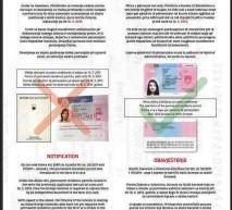 Obvestilo PP Trbovlje: Dovoljenje za stalno prebivanje v obliki nalepke le še do sredine maja 2013