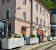 Ozelenitev železniške postaje