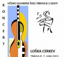 10. koncert učencev kitare in flavte Glasbene šole Trbovlje z gosti