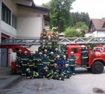 Kako pridni so naši gasilci?!