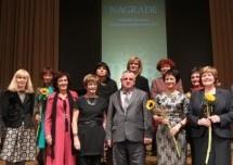 Nagrada za življenjsko delo Majdi Škrinar Majdič