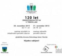 120 let zborovskega petja v Trbovljah