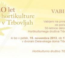 50 let hortikulture v Trbovljah
