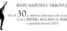 30 let delovanja mažoretne skupine v Trbovljah