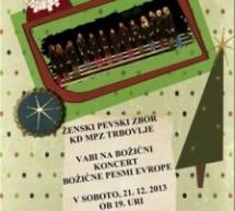 Koncert: Božične pesmi Evrope