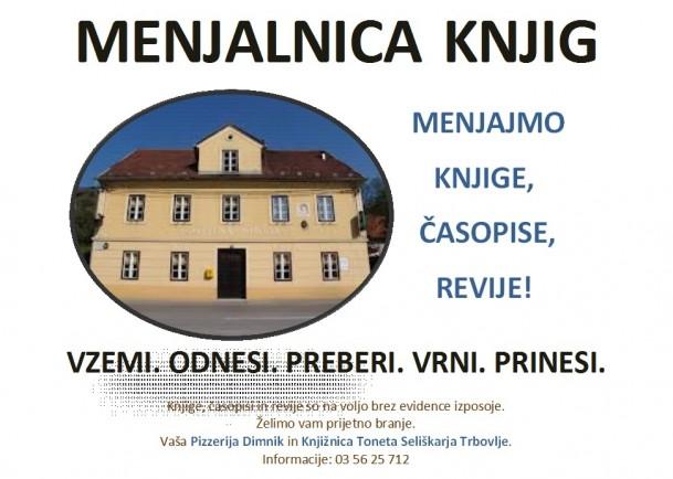 KTS Trbovlje, Menjalnica knjig Pizzerija Dimnik, februar 2014