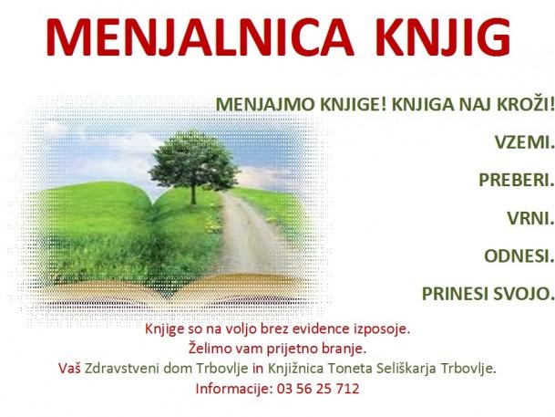 KTS Trbovlje, Menjalnica knjig ZD Trbovlje-ODRASLI, 2013