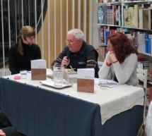 Predstavitev knjige Leopolda Odlazka Med hauzi v Knjižnici Toneta Seliškarja Trbovlje