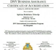 Mednarodna akreditacija Splošne bolnišnice Trbovlje