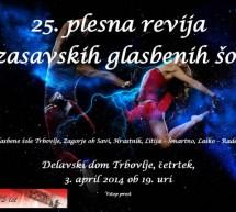 25. plesna revija zasavskih glasbenih šol