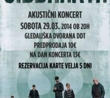 Siddharta – akustični koncert v Delavskem domu Trbovlje
