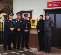 GZ Trbovlje predala avtomatski defibrilator v uporabo gasilcem PGD Dobovec