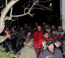 8. tradicionalni pohod na Čebine tudi tokrat v znamenju bakelj