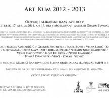 Art Kum 2012 – 2013