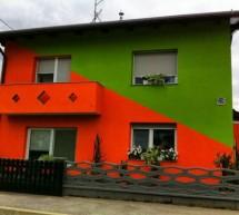 Kaj barva vaše fasade pove o vašem sosedu?