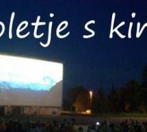 Tudi letošnje poletje brezplačni kino na prostem!