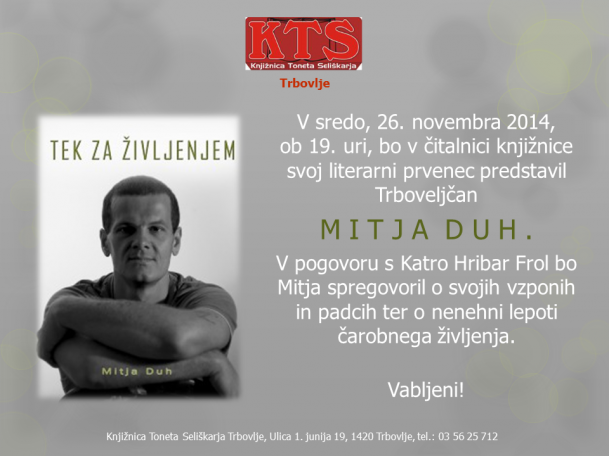 KTS Trbovlje, Mitja Duh, 26.11.2014