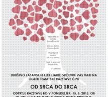 Razstava zasavskih klekljaric Srčevke – Od srca do srca