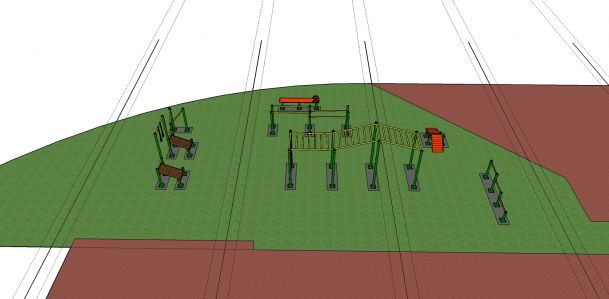 trbovlje Rudar orodja postavitev 1-2