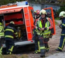 Gasilska vaja prostovoljnih društev Prebold in Trbovlje – mesto uspela