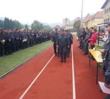 Športni park Rudar okupirali zasavski gasilci