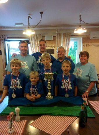 Drzavni prvaki - PGD Klek - pionirji