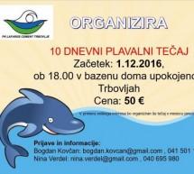Plavalni klub LC Trbovlje vabi na plavalni tečaj