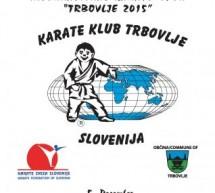 43. Mednarodni karate turnir »Trbovlje 2015« – sobota, 5. december