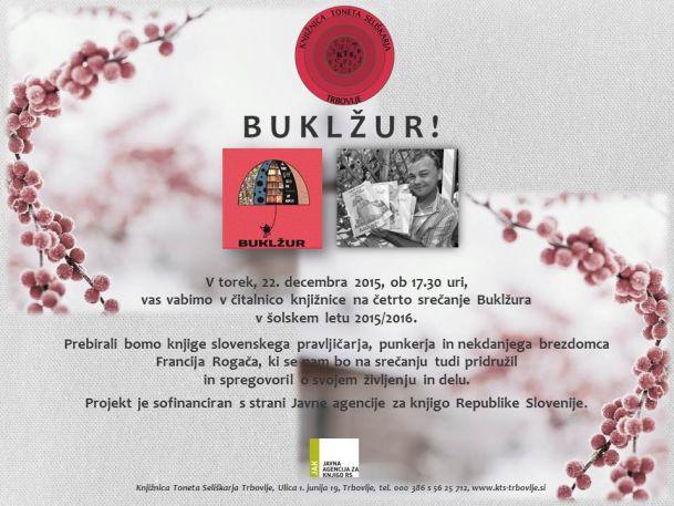 KTS Trbovlje, Buklžur, 22.12.2015