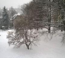 Odlaganje snega na javne površine