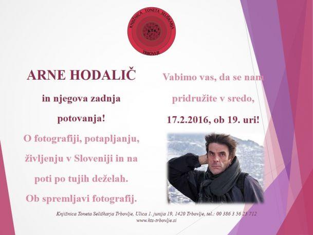 KTS Trbovlje, predavanje, Arne Hodalič, 17.2.2016