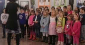 Razstava učenk in učencev OŠ Ivana Cankarja ob kulturnem prazniku