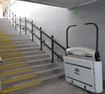 Občina Trbovlje je Zvezi Sonček podarila dvižni ploščadi iz podhoda