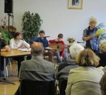 Literarni prijatelji pri DUT so predstavili mladega pesnika Vida Šteha