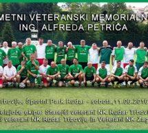 4. veteranski nogometni memorialni turnir ing. Alfreda Petriča