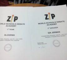 Šolska debatna akademija Kranjska Gora s svetovno udeležbo
