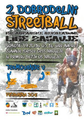 Plakat Streetball september 2016